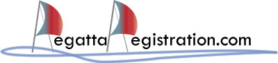 RegattaRegistration.com Logo - Your home for Sailing Regattas!